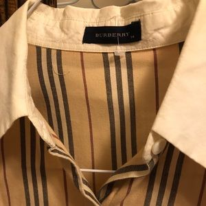 Long sleeve Burberry Collared shirt